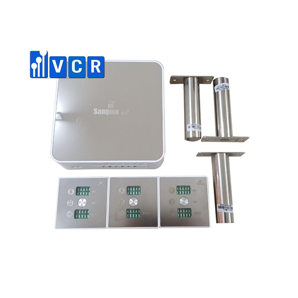 clean room door interlock system