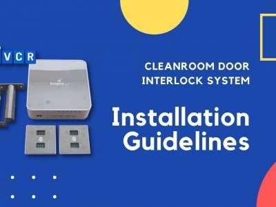 Cleanroom Door Interlock Installation: How to install cleanroom interlock?
