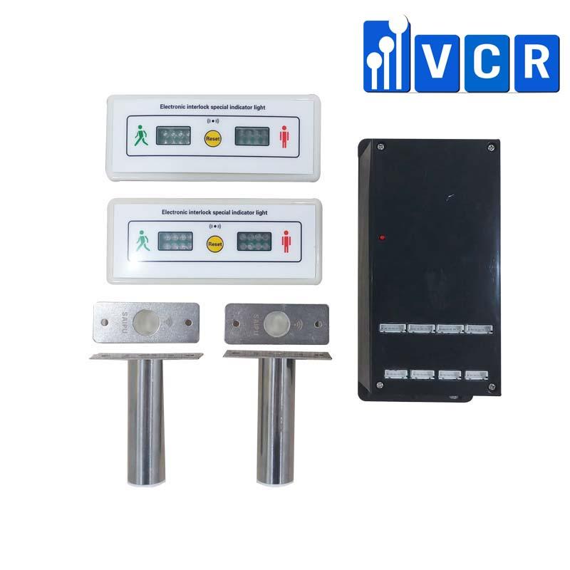 2 door interlock system for cleanroom - VCR